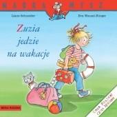 Okładka książki Zuzia jedzie na wakacje Eva Wenzel-Bürger,Liane Schneider
