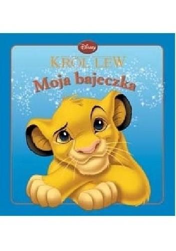Okładka książki Król Lew Walt Disney