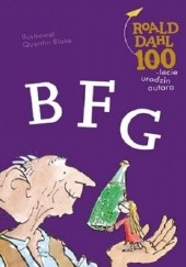 Okładka książki BFG Roald Dahl