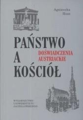 Okładka książki Państwo a Kościół Agnieszka Hess