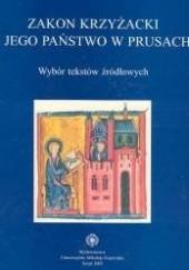 Okładka książki zakon krzyżacki i jego państwo w Prusach Andrzej Radzimiński