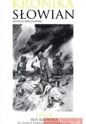 Okładka książki Ruś Kijowska w czasach pierwszych Rurykowiczów Witold Chrzanowski