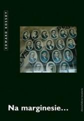 Okładka książki Na marginesie... Edward Kossoy