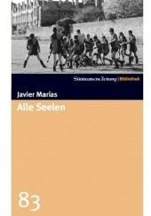 Okładka książki Alle Seelen Javier Marías