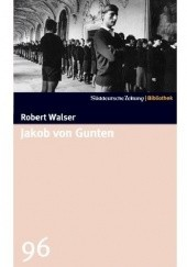 Okładka książki Jakob von Gunten Robert Walser
