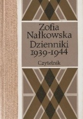 Okładka książki Dzienniki 1939-1944 Zofia Nałkowska