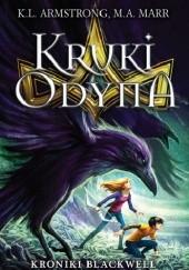 Okładka książki Kruki Odyna Kelley Armstrong,Melissa Marr