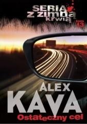 Okładka książki Ostateczny cel Alex Kava