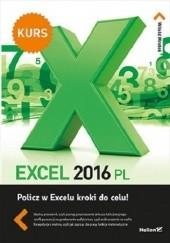 Okładka książki Excel 2016 PL. Kurs Witold Wrotek