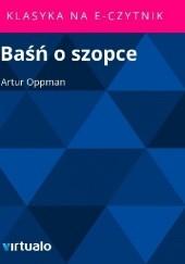 Okładka książki Baśń o szopce Artur Oppman