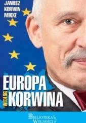 Okładka książki Europa według Korwina Janusz Korwin-Mikke