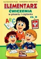 Okładka książki Elementarz. Ćwiczenia w pisaniu i czytaniu. Część 2 Aleksandra Plec,Marzenna Skoczylas