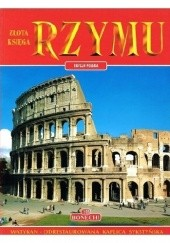 Okładka książki Złota księga Rzymu praca zbiorowa