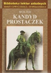 Okładka książki Kandyd Prostaczek Voltaire