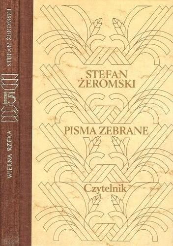 Okładka książki Wierna rzeka Stefan Żeromski