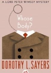 Okładka książki Whose Body?