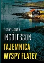 Okładka książki Tajemnica wyspy Flatey Viktor Arnar Ingólfsson