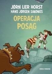 Okładka książki Operacja Posąg Jørn Lier Horst,Hans Jørgen Sandnes
