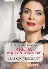 Okładka książki Czas opowiedziany Ałbena Grabowska