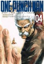 Okładka książki One-Punch Man tom 4 - Wielki meteor Yusuke Murata,ONE