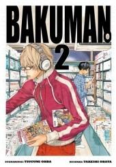 Okładka książki Bakuman #2 Tsugumi Ohba,Takeshi Obata