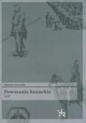 Okładka książki Powstanie Kozackie 1637 Marcin Gawęda