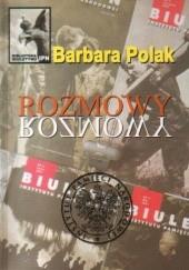Okładka książki Rozmowy Barbara Polak (pracownik IPN)