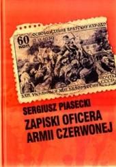 Okładka książki Zapiski oficera Armii Czerwonej Sergiusz Piasecki