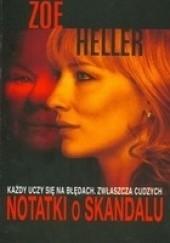 Okładka książki Notatki o skandalu Zoë Heller