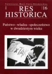 Okładka książki Państwo  władza  społeczeństwo w dwudziestym wieku Waldemar Kozyra