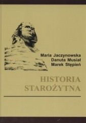 Okładka książki Historia starożytna Marek Stępień,Danuta Musiał,Maria Jaczynowska