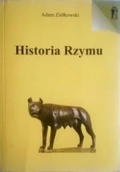 Okładka książki Historia Rzymu Adam Ziółkowski
