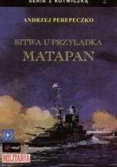 Okładka książki Bitwa u przylądka Matapan Andrzej Perepeczko