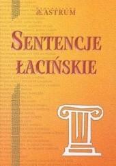 Okładka książki Sentencje łacińskie Marek Dubiński