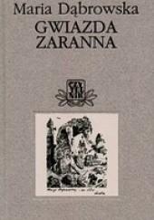 Okładka książki Gwiazda zaranna Maria Dąbrowska