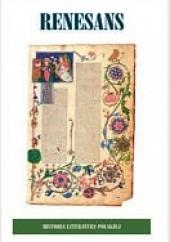 Okładka książki Historia Literatury Polskiej - t. 2 Renesans Anna Skoczek