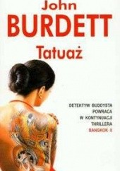 Okładka książki Tatuaż John Burdett