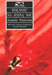 Okładka książki Wolność na jedną noc Jeanette Winterson