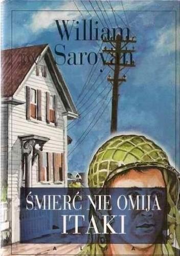 Okładka książki Śmierć nie omija Itaki William Saroyan