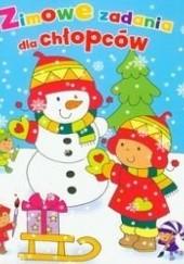 Okładka książki Zimowe zadania dla chłopców Krzysztof M. Wiśniewski,Anna Wiśniewska