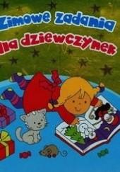 Okładka książki Zimowe zadania dla dziewczynek Krzysztof M. Wiśniewski,Anna Wiśniewska