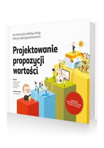 Okładka książki Projektowanie propozycji wartości Greg Bernarda,Alexander Osterwalder,Yves Pigneur,Alan Smith