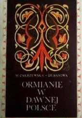 Okładka książki Ormianie w dawnej Polsce Mirosława Zakrzewska-Dubasowa