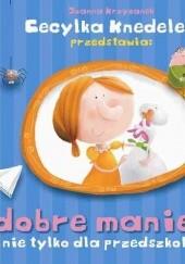 Okładka książki Cecylka Knedelek przedstawia :dobre maniery nie tylko dla przedszkolaków