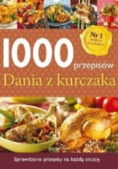 Okładka książki 1000 przepisów. Dania z kurczaka