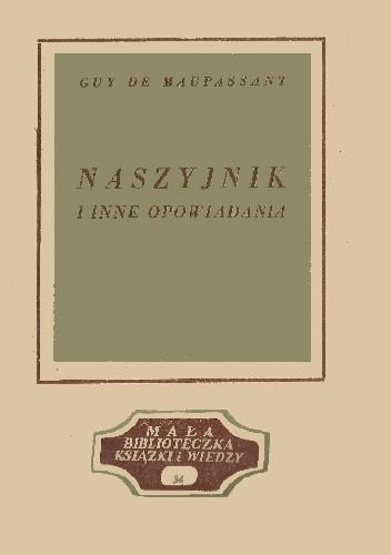Okładka książki Naszyjnik i inne opowiadania Guy de Maupassant