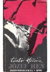 Okładka książki Teatr Heroda Józef Hen