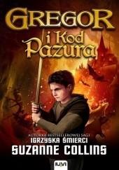 Okładka książki Gregor i kod Pazura Suzanne Collins