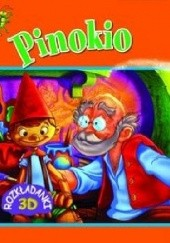 Okładka książki Pinokio. Rozkładanki 3D praca zbiorowa