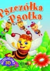 Okładka książki Pszczółka Psotka. Rozkładanki 3D praca zbiorowa